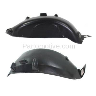 Aftermarket Replacement - IFD-1113L & IFD-1113R 2007-2018 Jeep Wrangler (Rubicon, Sahara, Sport, Sport S, Unlimited, X, X-S) Rear Splash Shield Inner Fender Liner Left Right SET PAIR - Image 2
