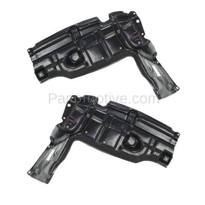 Aftermarket Replacement - ESS-1633L & ESS-1633R 07-12 Yaris & xD Front Engine Splash Shield Under Cover Left Right Side SET PAIR - Image 1