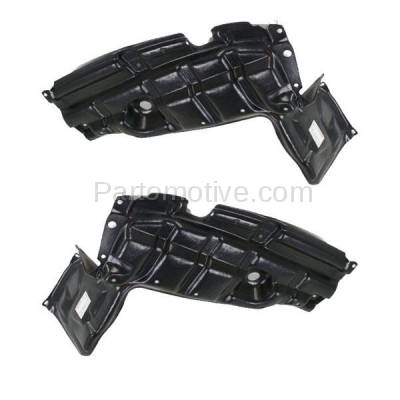 Aftermarket Replacement - ESS-1633L & ESS-1633R 07-12 Yaris & xD Front Engine Splash Shield Under Cover Left Right Side SET PAIR - Image 2