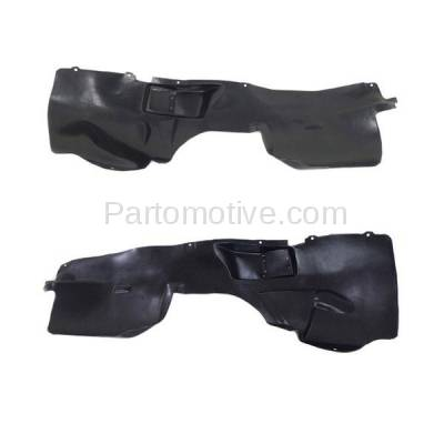Aftermarket Replacement - IFD-1152L & IFD-1152R 05-07 Grand Cherokee Front Splash Shield Inner Fender Liner Left Right SET PAIR - Image 2