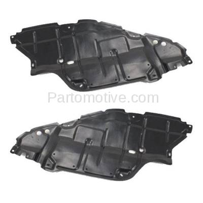 Aftermarket Replacement - ESS-1634L & ESS-1634R 07-09 Camry Engine Splash Shield Under Cover Guard USA Built Left Right SET PAIR - Image 2
