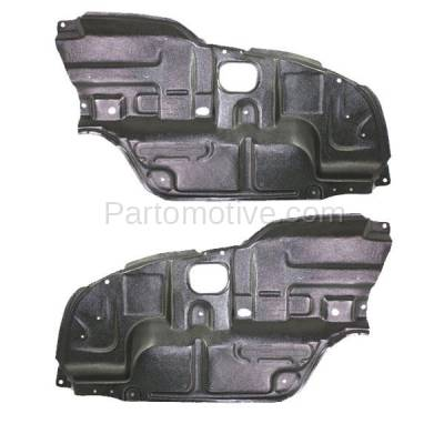 Aftermarket Replacement - ESS-1575L & ESS-1575R 02-06 Camry Front Engine Splash Shield Under Cover Undercar Left Right SET PAIR - Image 1