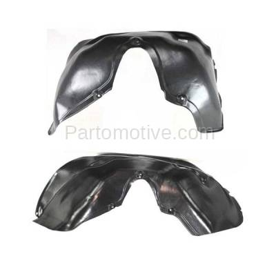 Aftermarket Replacement - IFD-1159L & IFD-1159R 94-02 Ram Truck Front Splash Shield Inner Fender Liner Panel Left Right SET PAIR - Image 3