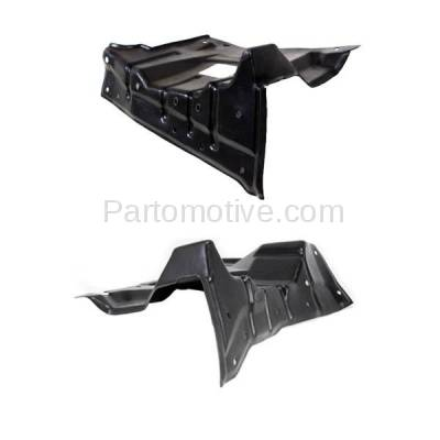 Aftermarket Replacement - ESS-1500L & ESS-1500R 2008-2017 Mitsubishi Lancer 2007-2013 Outlander 2011-2017 Outlander Sport 2013-2015 RVR Front Engine Splash Shield PAIR SET Right & Left Side - Image 3
