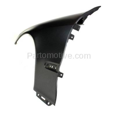 Aftermarket Replacement - FDR-1629R 2000-2006 Mercedes Benz S-Class V8/V12 (220 Chassis) Front Fender Quarter Panel (with Molding Holes) Primed Steel Right Passenger Side - Image 2