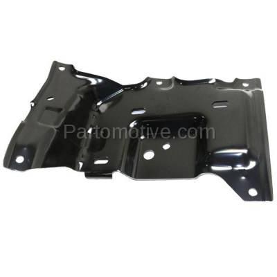 Aftermarket Replacement - BBK-1138L 2015-2017 Ford F150 Pickup Truck (Models with Side Bumper Cover) Front Bumper Mounting Brace Bracket Plate Steel Left Driver Side - Image 1