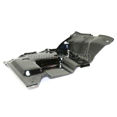 Aftermarket Replacement - BBK-1138L 2015-2017 Ford F150 Pickup Truck (Models with Side Bumper Cover) Front Bumper Mounting Brace Bracket Plate Steel Left Driver Side - Image 2