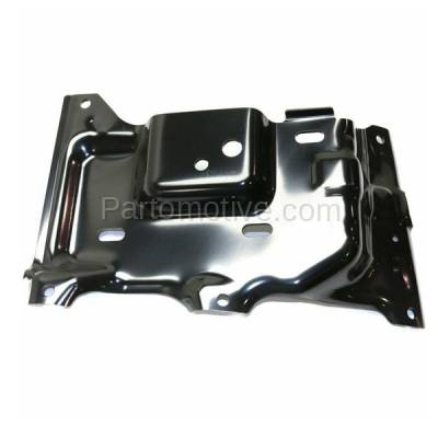Aftermarket Replacement - BBK-1138L 2015-2017 Ford F150 Pickup Truck (Models with Side Bumper Cover) Front Bumper Mounting Brace Bracket Plate Steel Left Driver Side - Image 3