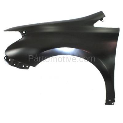 Aftermarket Replacement - FDR-1385L 2010-2012 Lexus HS250h (Sedan 4-Door) (2.4 Liter Engine) Front Fender Quarter Panel Primed Steel Left Driver Side - Image 1