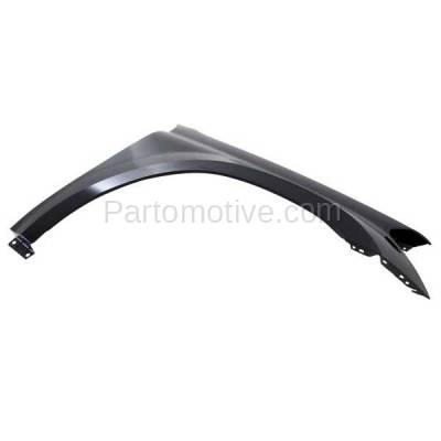 Aftermarket Replacement - FDR-1356L 2007-2012 Mercedes Benz GL-Class (3.0 & 4.6 & 4.7 & 5.5 Liter V6/V8) Front Fender Quarter Panel Primed Steel Left Driver Side - Image 2