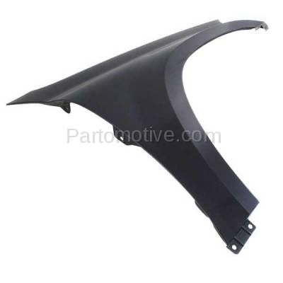 Aftermarket Replacement - FDR-1356L 2007-2012 Mercedes Benz GL-Class (3.0 & 4.6 & 4.7 & 5.5 Liter V6/V8) Front Fender Quarter Panel Primed Steel Left Driver Side - Image 3