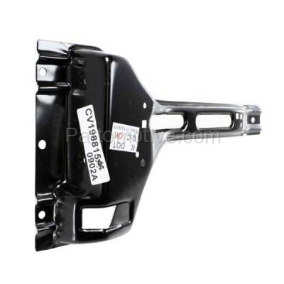 Aftermarket Replacement - RSP-1237 1988-2000 Cadillac Escalade, Chevrolet/GMC C/K-Series, Suburban Tahoe, Yukon Radiator Support Hood Latch Lock Support Bracket Steel - Image 2