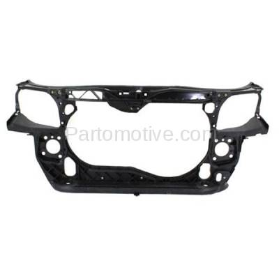 Aftermarket Replacement - RSP-1016 2005-2009 Audi A4/A4 Quattro (Convertible, Sedan, Wagon) 2.0L Front Center Radiator Support Core Assembly Primed Made of Plastic & Steel - Image 1