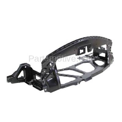 Aftermarket Replacement - RSP-1061 2003-2008 BMW Z4 (2.5i, 3.0i, M, Roadster) Convertible & Coupe Front Center Radiator Support Core Panel Assembly Primed Made of Steel - Image 2