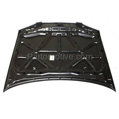 Aftermarket Replacement - HDD-1562 2000-2003 Nissan Sentra (CA, GXE, Limited, SE, SE-R, SE-R Spec V, XE) Sedan 4-Door Front Hood Panel Assembly Primed Steel - Image 3