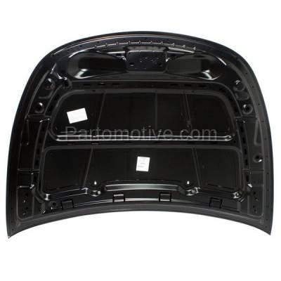 Aftermarket Replacement - HDD-1131 2013-2016 Dodge Dart (Aero, GT, Limited, R/T, Rallye, SE, SXT) Sedan 4-Door (Models without Hood Scoop) Front Hood Panel Assembly Primed Steel - Image 2
