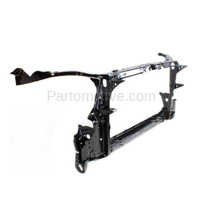 Aftermarket Replacement - RSP-1743 2003-2008 Toyota Corolla (CE, LE, S, Sport, XRS) 1.8L (Without Hood Latch) Front Center Radiator Support Core Assembly Primed Steel - Image 2