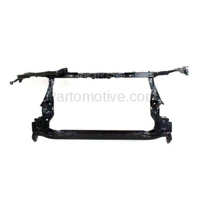 Aftermarket Replacement - RSP-1745 2009-2013 Toyota Corolla (Base, CE, LE, S, XLE, XRS) with Hood Latch (Made In North America) Front Radiator Support Core Assembly Steel - Image 1