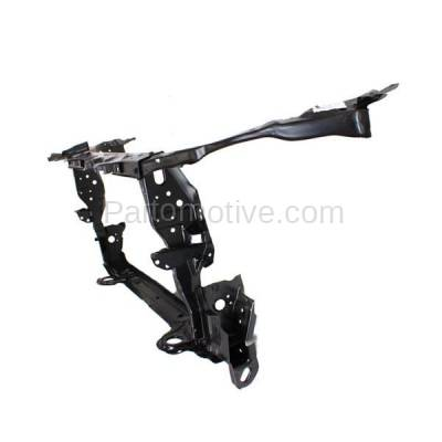 Aftermarket Replacement - RSP-1745 2009-2013 Toyota Corolla (Base, CE, LE, S, XLE, XRS) with Hood Latch (Made In North America) Front Radiator Support Core Assembly Steel - Image 3