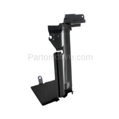 Aftermarket Replacement - RSP-1647R 2007-2012 Nissan Versa (1.6, 1.6 Base, 1.8 S, 1.8 SL, S, SL) Radiator Support Side Air Duct Primed Made of Steel Right Passenger Side - Image 2