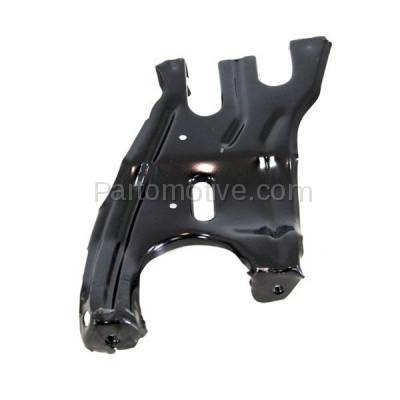Aftermarket Replacement - RSP-1504R 2001-2007 Mercedes Benz C-Class & 2003-2009 CLK-Class Front Radiator Support Center Bracket Brace Panel Primed Steel Right Passenger Side - Image 1