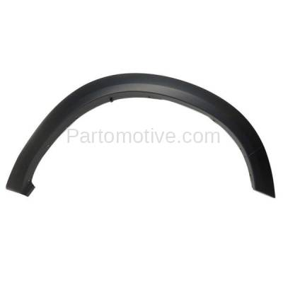 Aftermarket Replacement - FDF-1025R 11-17 RAM 1500 Front Fender Flare Wheel Opening Molding Trim RH Passenger Side - Image 1
