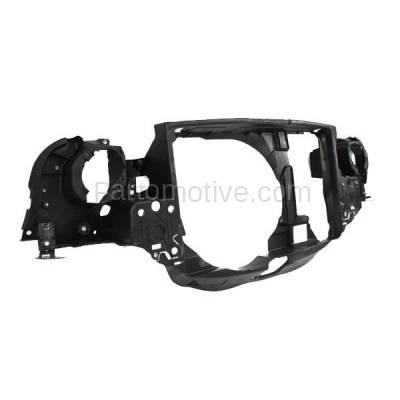 Aftermarket Replacement - RSP-1553 2002-2008 Mini Cooper (Convertible & Hatchback 2-Door) (1.6 Liter Engine) Front Center Radiator Support Core Assembly Primed Plastic - Image 2