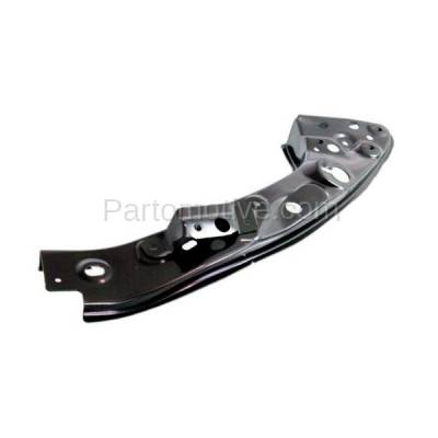 Aftermarket Replacement - RSP-1577R 2007-2009 Mitsubishi Outlander (Base, ES, LS, SE, XLS) Radiator Support Upper Brace Bracket Panel Primed Steel Right Passenger Side - Image 1