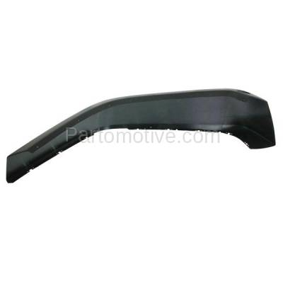 Aftermarket Replacement - FDF-1015R 07-17 Wrangler JK Front Fender Flare Wheel Opening Molding Trim Arch Right Side - Image 2