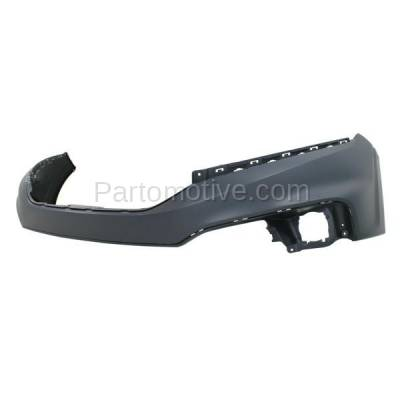 Aftermarket Replacement - BUC-2220FC CAPA 13-15 Crosstour Front Upper Bumper Cover Primed HO1014101 04711TP6A80ZZ - Image 2