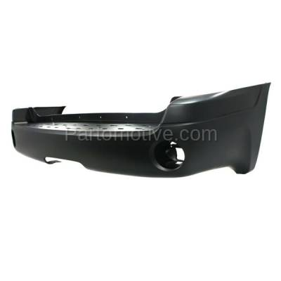 Aftermarket Replacement - BUC-2019RC CAPA 02-09 Envoy & XL Rear Bumper Cover w/Reflector Holes GM1100628 12335703 - Image 2
