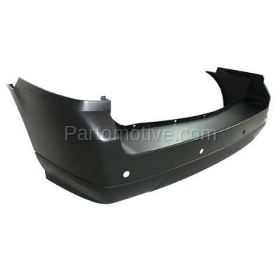 Aftermarket Replacement - BUC-2021RC CAPA 02-07 Rendezvous Rear Bumper Cover Park Sensor Holes GM1100644 12335509 - Image 2