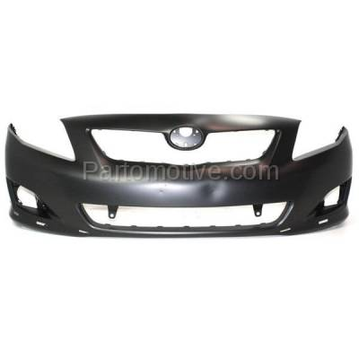 Aftermarket Replacement - BUC-3259FC CAPA 09-10 Corolla S/XRS Front Bumper Cover Assy USA Built TO1000342 5211902989 - Image 1