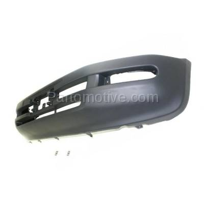Aftermarket Replacement - BUC-3182FC CAPA 96-97 RAV-4 Front Bumper Cover w/o Extension Holes TO1000183 5211942996 - Image 2