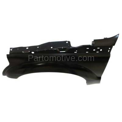 Aftermarket Replacement - FDR-1285LC CAPA 2011-2016 Ford F-Series F250 & F350 Super Duty Truck Front Fender Quarter Panel (without Wheel Opening Molding Holes) Left Driver Side - Image 2