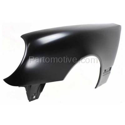 Aftermarket Replacement - FDR-1222LC CAPA 2000-2003 Mercedes Benz E-Class E320 E430 (without AMG Styling Package) Front Fender Quarter Panel Primed Left Driver Side - Image 2