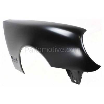 Aftermarket Replacement - FDR-1222RC CAPA 2000-2003 Mercedes Benz E-Class E320 E430 (without AMG Styling Package) Front Fender Quarter Panel Primed Right Passenger Side - Image 2