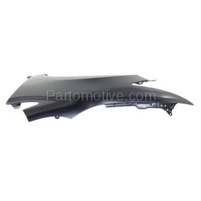 Aftermarket Replacement - FDR-1154LC CAPA 2014-2015 Honda Civic (EX, EX-L, LX, Si) 2-Door Coupe (1.8 & 2.4 Liter) Front Fender Quarter Panel Primed Steel Left Driver Side - Image 3