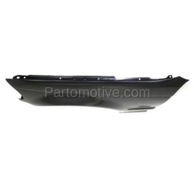 Aftermarket Replacement - FDR-1011LC CAPA 1999-2001 BMW 3-Series (Sedan & Wagon) Front Fender Quarter Panel (with Turn Signal Light Hole) Primed Steel Left Driver Side - Image 3