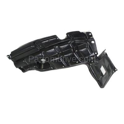 Aftermarket Replacement - ESS-1633L 07-12 Yaris & xD Front Engine Splash Shield Under Cover LH Driver Side TO1228138 - Image 2