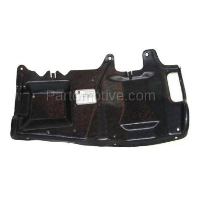 Aftermarket Replacement - ESS-1645L 00-04 S40 Engine Splash Shield Under Cover Panel Driver Side VO1228102 308896497 - Image 1