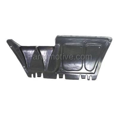 Aftermarket Replacement - ESS-1666 98-05 Beetle Center Engine Splash Shield Under Cover Guard VW1228100 1J0825237P - Image 2