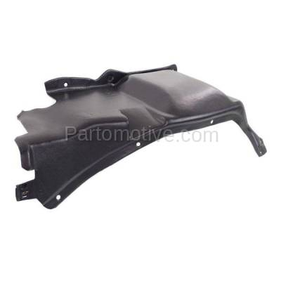 Aftermarket Replacement - ESS-1653L 98-07 Beetle Front Engine Splash Shield Under Cover Guard Driver Side VW1228124 - Image 1