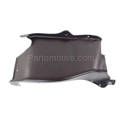 Aftermarket Replacement - ESS-1653R 98-06 Beetle Front Engine Splash Shield Under Cover Guard Right Side VW1228125 - Image 2