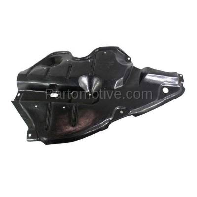 Aftermarket Replacement - ESS-1614R 2009-2016 Toyota Venza (AWD, Base. LE, Limited, V6, XLE) Front (Front Section) Engine Under Cover Splash Shield Plastic Right Passenger Side - Image 2