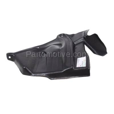 Aftermarket Replacement - ESS-1545L Front Engine Splash Shield Under Cover For 93-01 Altima LH Driver Side NI1250137 - Image 1