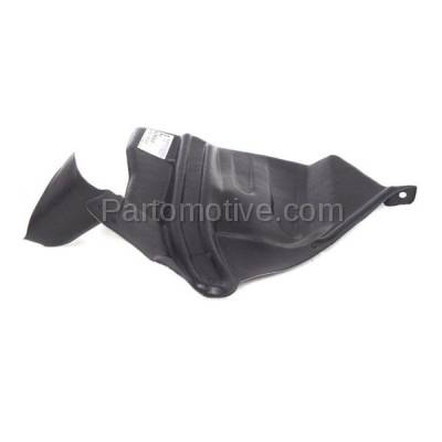 Aftermarket Replacement - ESS-1545L Front Engine Splash Shield Under Cover For 93-01 Altima LH Driver Side NI1250137 - Image 3