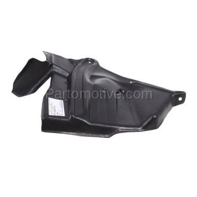 Aftermarket Replacement - ESS-1545R Front Engine Splash Shield Under Cover For 93-01 Altima Passenger Side NI1251137 - Image 1