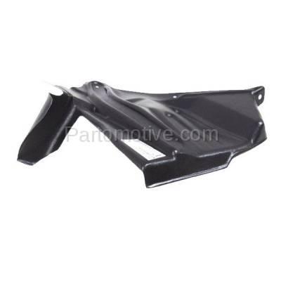 Aftermarket Replacement - ESS-1545R Front Engine Splash Shield Under Cover For 93-01 Altima Passenger Side NI1251137 - Image 2