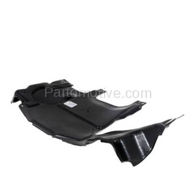 Aftermarket Replacement - ESS-1473 02-07 C230 Rear Engine Splash Shield Under Cover Undercar MB1228118 2035242730 - Image 3